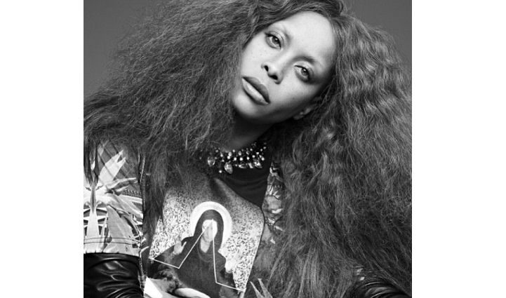 Erykah Badu Hair 2014